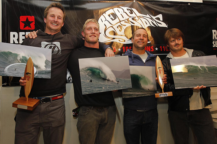 Rebel Sessions 2011 Big Wave awards winners